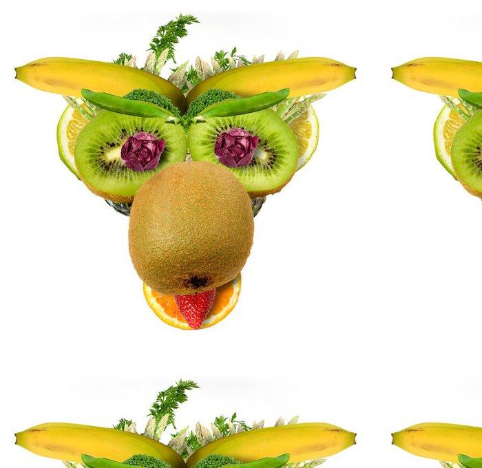 Tapeta Pixerstick Mucca fruttosa - Ovoce