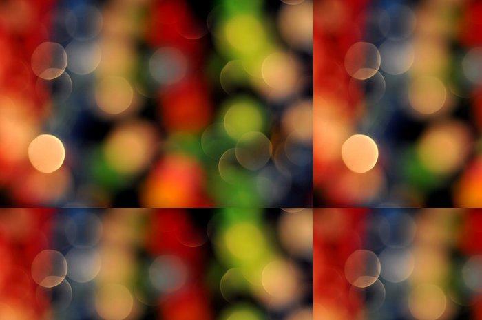 Tapeta Pixerstick Mulitcolor bokeh světla - Abstraktní