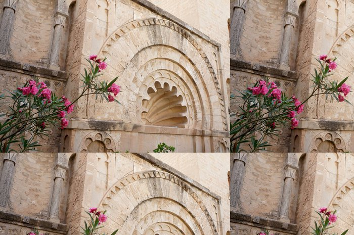 Tapeta Pixerstick Multilobed oblouk Kobba v Medina Sousse - Afrika