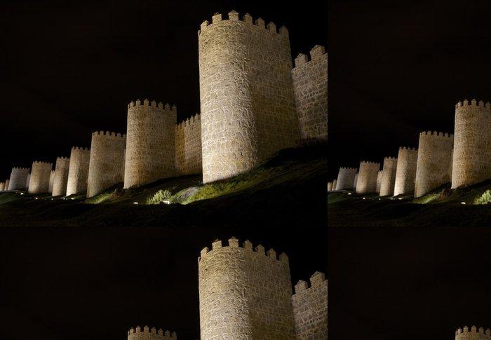 Tapeta Pixerstick Murallas de Avila (vista 3) - Evropa