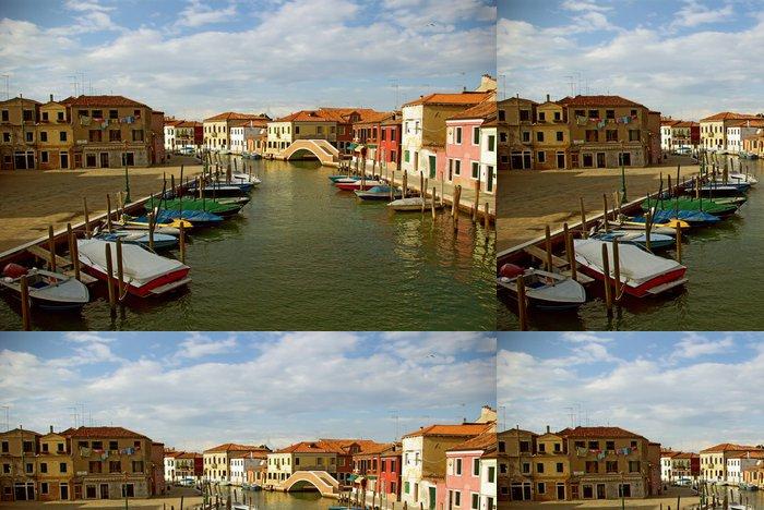 Tapeta Pixerstick Murano - nádherné benátský ostrov, Benátky, Itálie - Evropská města