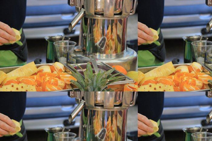 Tapeta Pixerstick Na francouzském trhu Vitamin bar - Prodej