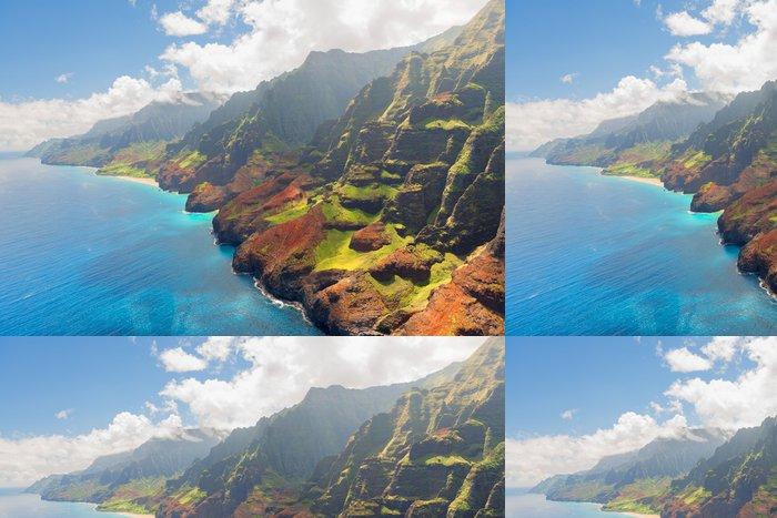 Tapeta Pixerstick Na Pali pobřeží ostrova Kauai v létě - Témata