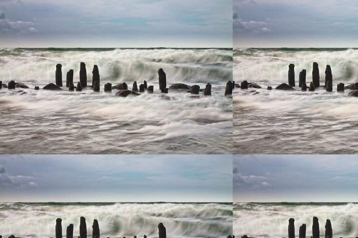 Vinylová Tapeta Na pobřeží Baltského moře. - Voda
