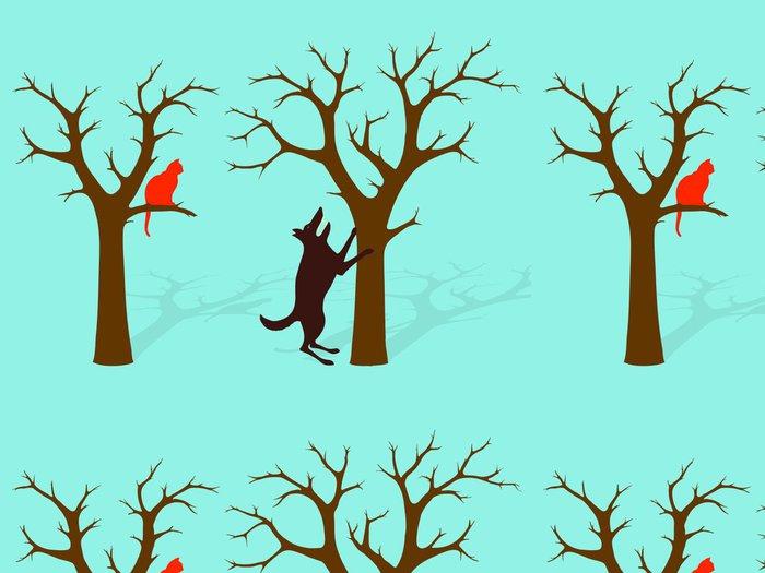 Tapeta Pixerstick Na špatné adrese strom idiom - Značky a symboly