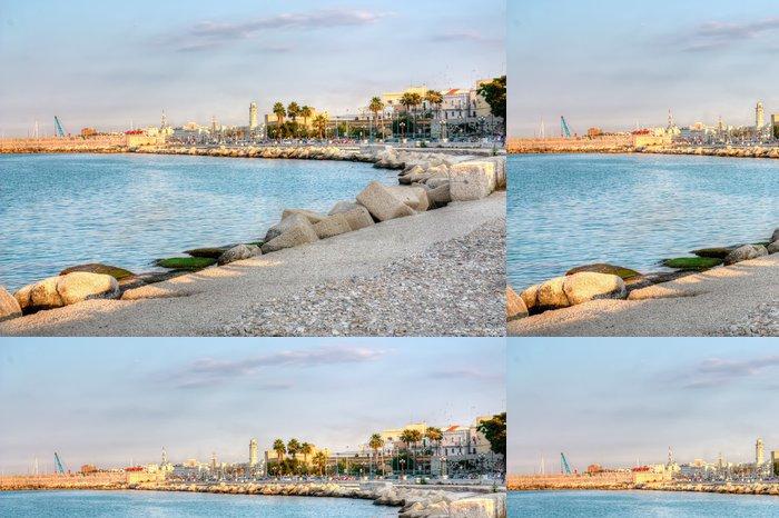 Tapeta Pixerstick Nábřeží Bari Itálie HDR - Evropa