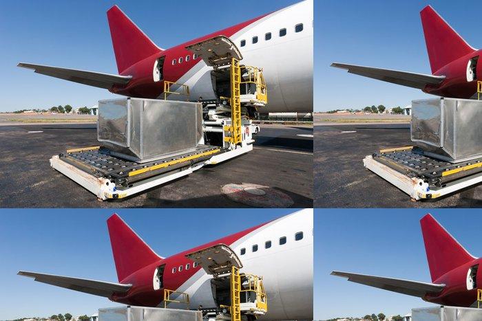 Tapeta Pixerstick Načítání nákladní letadlo - Vzduch