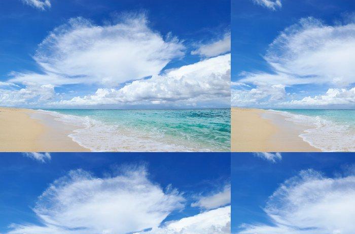 Vinylová Tapeta Nádherná pláž - Prázdniny
