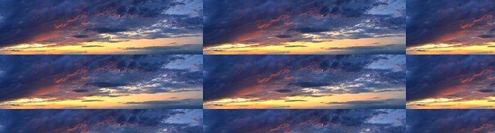 Tapeta Pixerstick Nádherné barvy na obloze při západu slunce - Nebe
