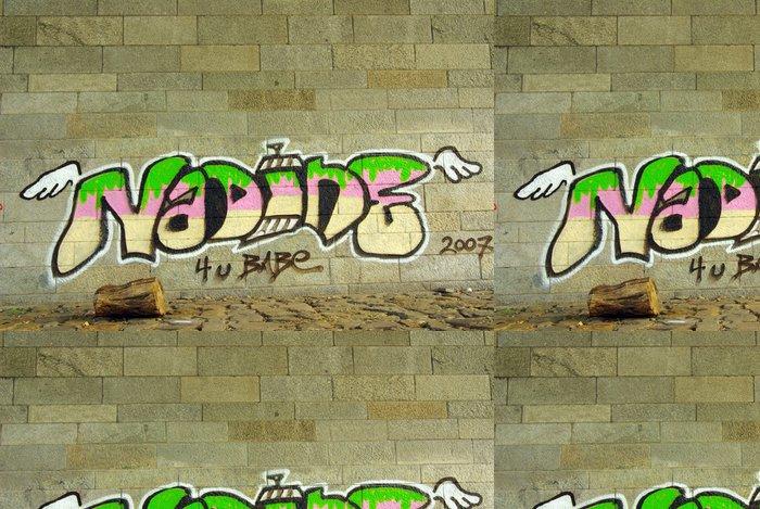 Tapeta Pixerstick Nadine graffitie - Umění a tvorba