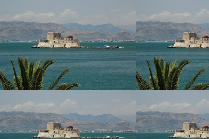 Tapeta Pixerstick Nafplio, Řecko, Hrad Bourtzi - Evropa