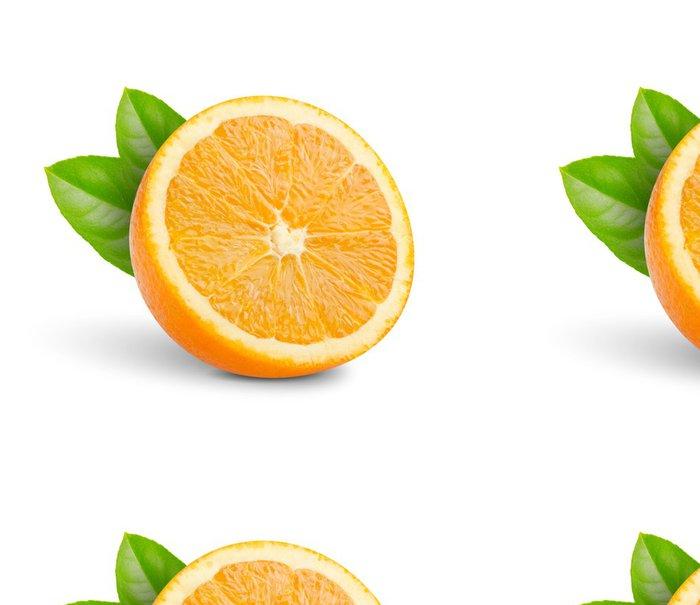 Tapeta Pixerstick Nakrájíme na poloviny pomeranče - Ovoce