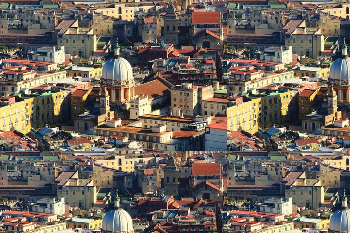 Vinylová Tapeta Napoli, panorama da Castel S. Elmo - Evropa