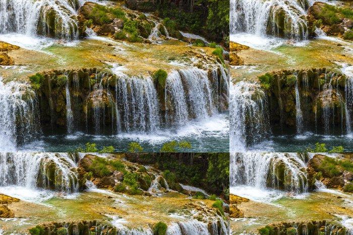 Tapeta Pixerstick Národní park Krka (Chorvatsko, Dalmácie) - Evropa