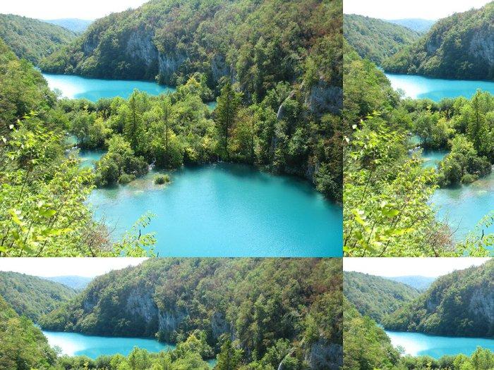 Tapeta Pixerstick Národní park Plitvická jezera - Témata
