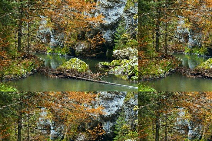 Tapeta Pixerstick Národní park - Slovenský ráj, Slovensko - Evropa