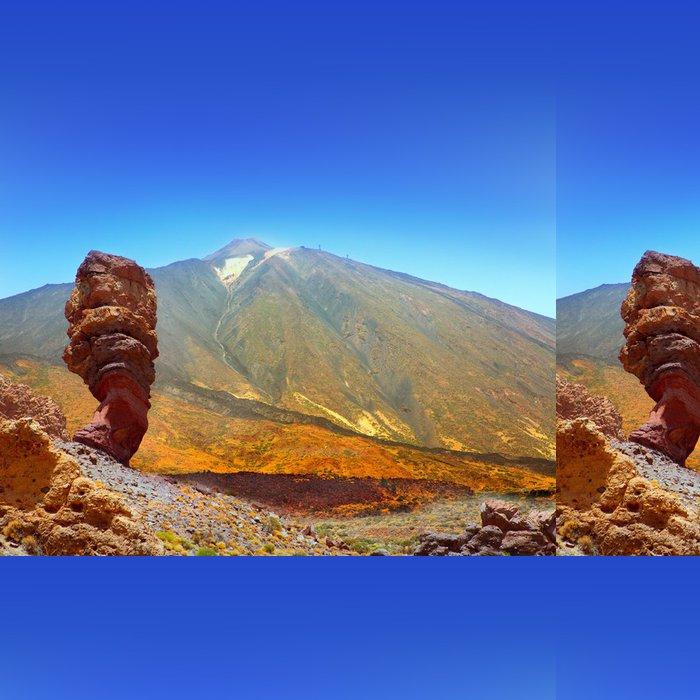 Tapeta Pixerstick Národní park Teide na Tenerife Roques de Garcia - Prázdniny