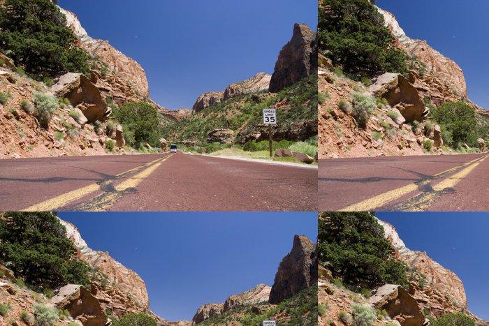 Tapeta Pixerstick Národní park Zion Canyon - Amerika