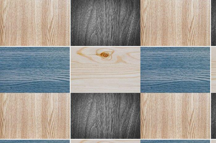 Tapeta Pixerstick Nastavit dřevěné textury pozadí - Struktury