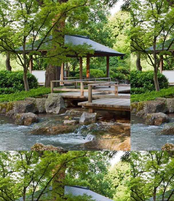 Tapeta Pixerstick Natur Garten I - Asie