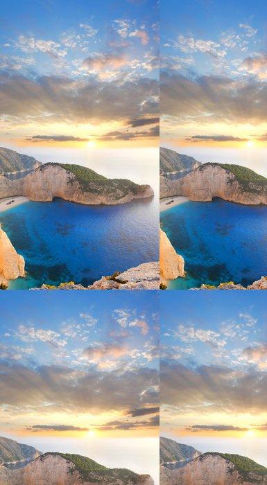Tapeta Pixerstick Navagio Beach s ztroskotání na ostrově Zakynthos, Řecko - Témata
