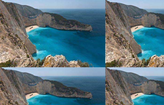 Vinylová Tapeta Navagio pláž na ostrově Zakynthos v Řecku - Evropa