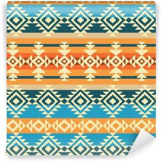 Vinylová Tapeta Navajo styl geometrický vzor bezešvé