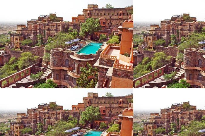 Tapeta Pixerstick Neemrana Fort Palace, Rajasthan, Indie - Asie