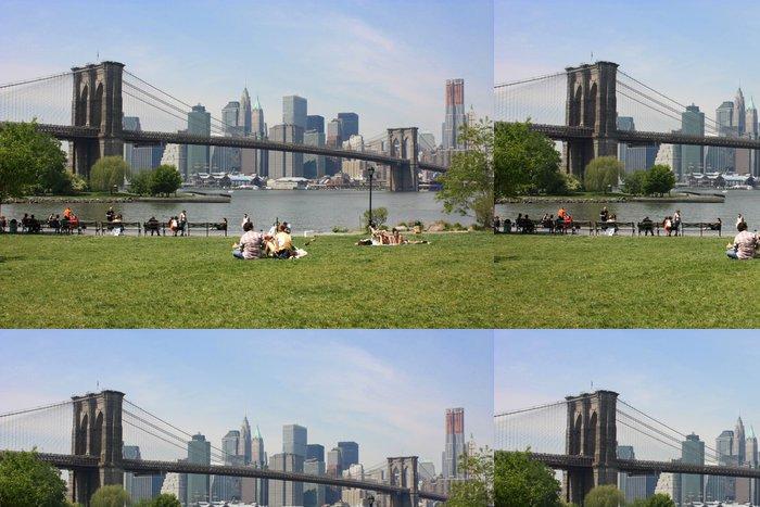 Vinylová Tapeta New York Brooklyn Bridge - Americká města