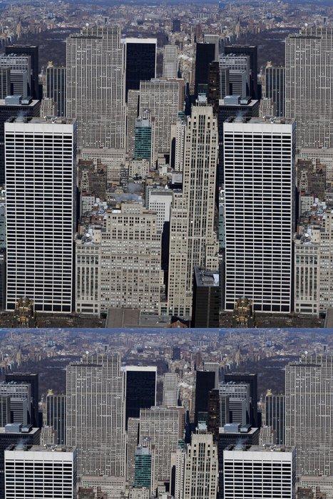 Tapeta Pixerstick New York budov ve střední části - Americká města