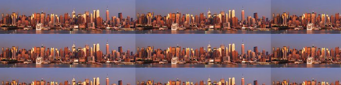 Tapeta Pixerstick New York City Manhattan Skyline - Amerika