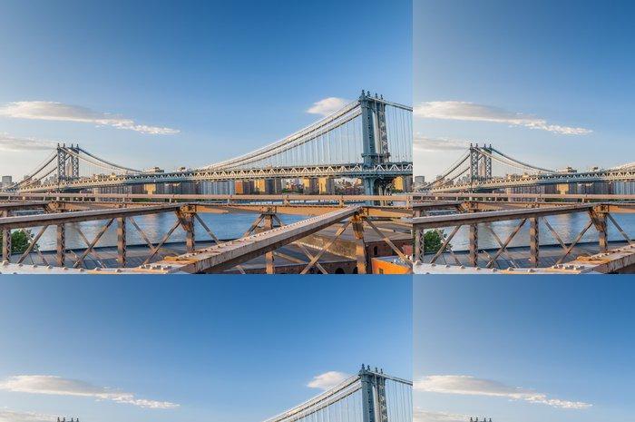 Tapeta Pixerstick New York City mosty - Americká města