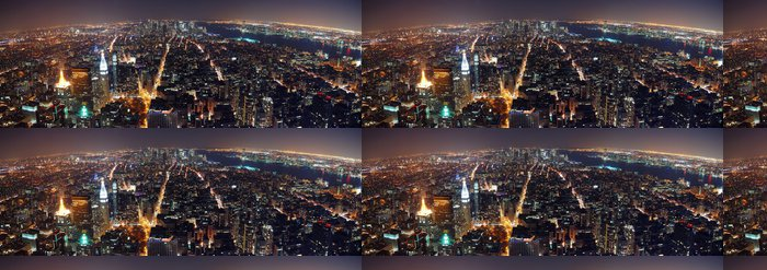 Tapeta Pixerstick New York City panorama - Památky