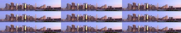 Tapeta Pixerstick New York City panorama - Americká města