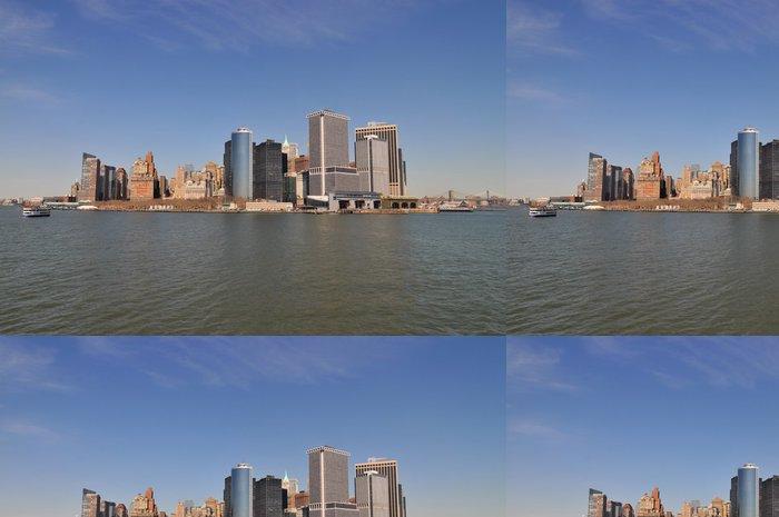 Tapeta Pixerstick New York City Skyline - Americká města
