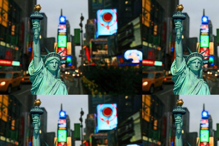 Vinylová Tapeta New York - Den a noc - Americká města