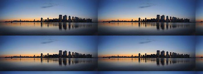 Vinylová Tapeta New York panorama za úsvitu - Americká města
