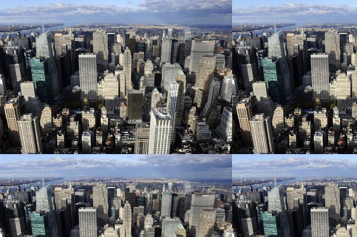 Tapeta Pixerstick New york sky view - Americká města