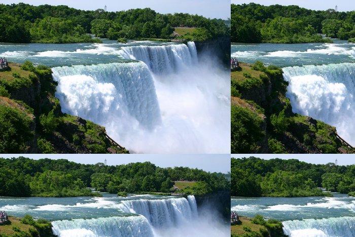 Tapeta Pixerstick Niagara Falls letní čas - Amerika