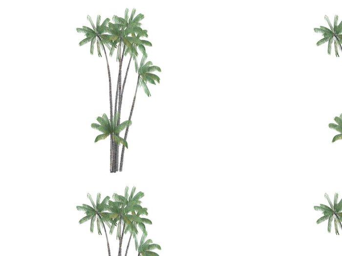 Tapeta Pixerstick Nibung Palm (Oncosperma tigillarium) - Stromy a listí