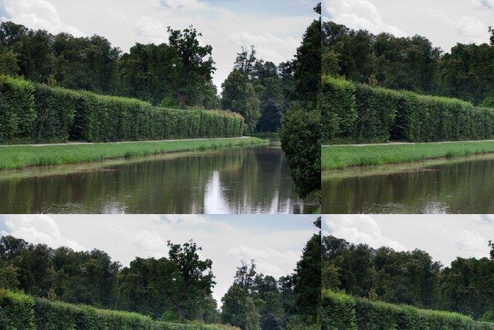 Tapeta Pixerstick Nieborów Palace Lake Park v Polsku - Prázdniny