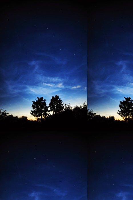 Tapeta Pixerstick Night sky - Meziplanetární prostor
