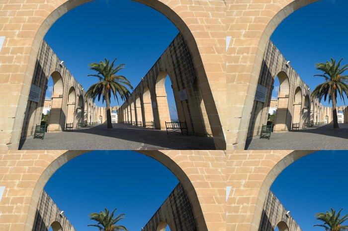 Tapeta Pixerstick Nižší Barrakka zahrady v Valletta, Malta - Evropa