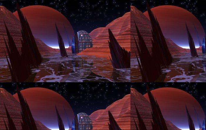 Tapeta Pixerstick Noc na portálu Europa - Meziplanetární prostor