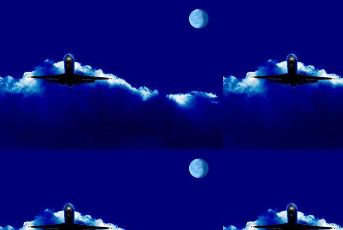 Tapeta Pixerstick Noční let - Vzduch