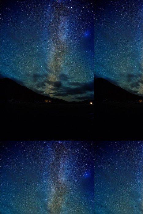 Vinylová Tapeta Noční oblohu hvězdy - Nebe