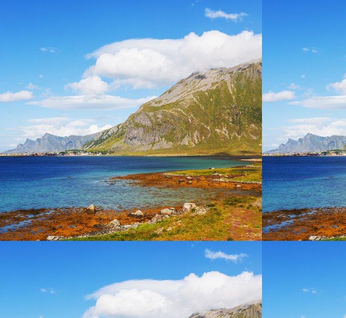 Tapeta Pixerstick Norsko krajiny - Příroda a divočina