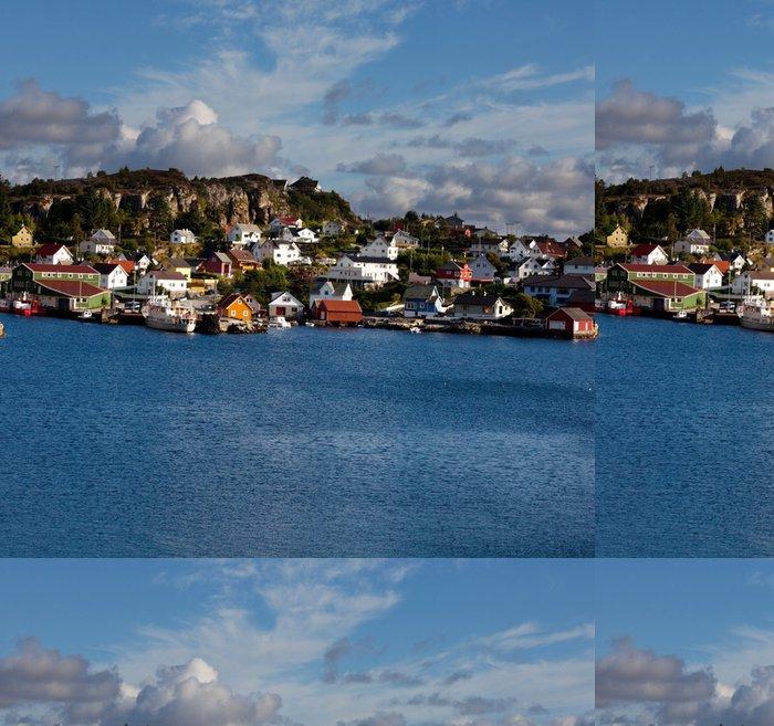 Tapeta Pixerstick Norsko krajiny - Voda