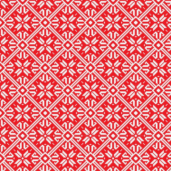Tapeta Pixerstick Norsko Vánoční bezproblémové vektorové pozadí, EPS 8 image - Pozadí