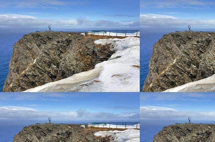 Tapeta Pixerstick North Cape útes v dubnu - Evropa